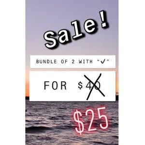 ✔️ 2 FOR $25 SALE! ✔️😁✨
